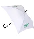 Exialoe white square umbrella